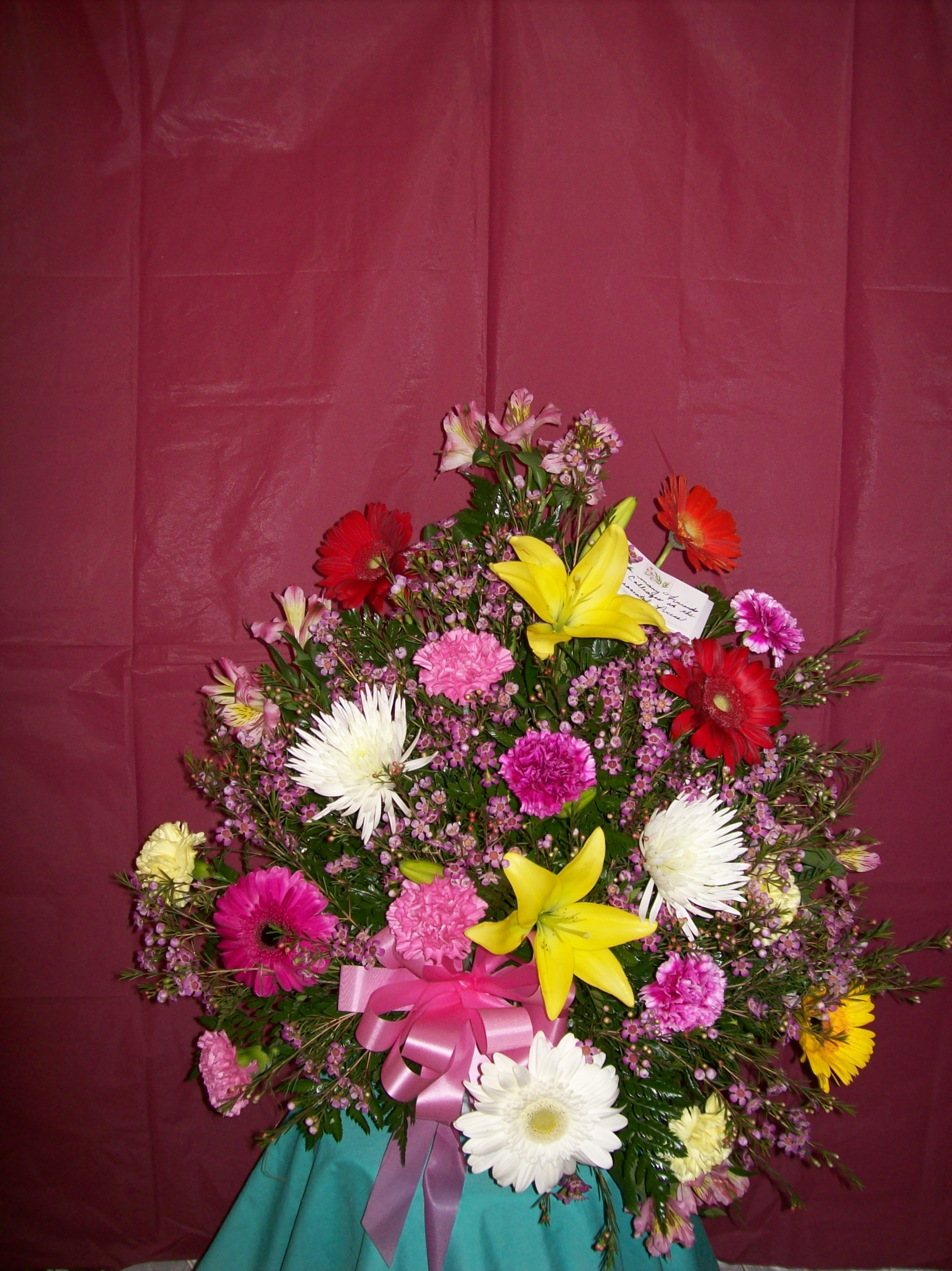 Birthday, Get Well, Anniversary and Any Occasion Flower Arrangements ...