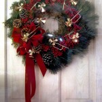 Instrument Christmas Wreath